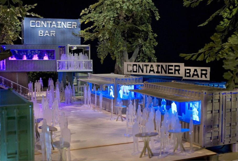 Container Bar - Built From Used Shipping Containers | GVCT ...