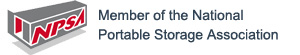 >member of the National Portable Storage Association